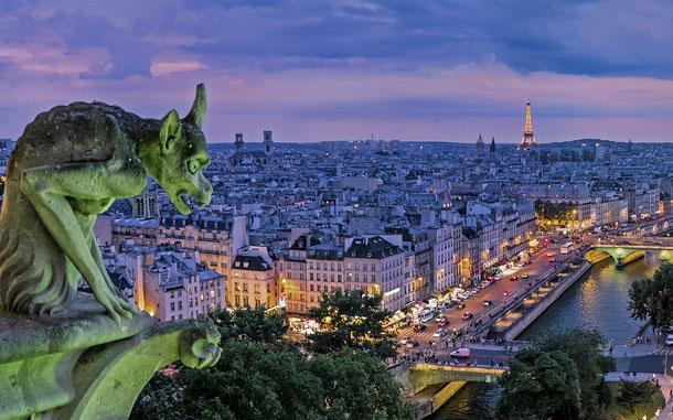 フランスの世界遺産「パリのセーヌ河岸」