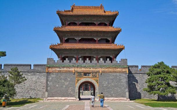 世界遺産「明・清朝の皇帝陵墓群(中国)」、関外三陵の福陵