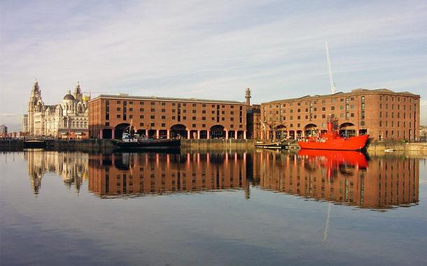 イギリスの世界遺産「海商都市リヴァプール」のアルバート・ドック