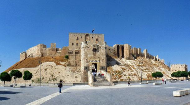 世界遺産「古都アレッポ(シリア)」、アレッポ城