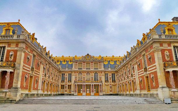 世界遺産「ベルサイユの宮殿と庭園(フランス)」、ベルサイユ宮殿