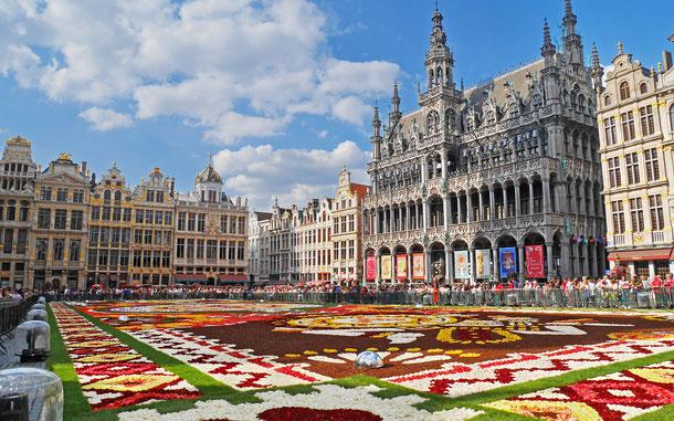 ベルギーの世界遺産「ブリュッセルのグラン・プラス」