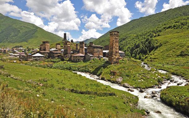 ウシュグリ、チャザシ村