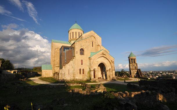 「バグラティ大聖堂とゲラティ修道院」のバグラティ大聖堂