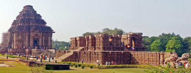 世界遺産「コナーラクの太陽神寺院(インド)」