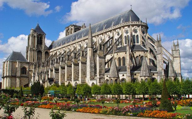 フランスの世界遺産「ブールジュ大聖堂」