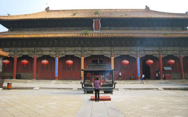 世界遺産「泰山(中国)」、岱廟の天貺殿
