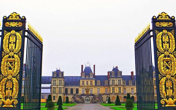 世界遺産「フォンテーヌブローの宮殿と庭園(フランス)」