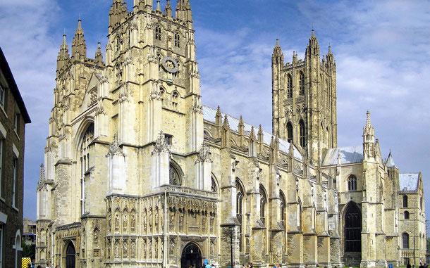 世界遺産「カンタベリー大聖堂、聖オーガスティン大修道院及び聖マーティン教会(イギリス)」のカンタベリー大聖堂