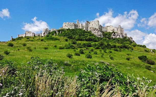 世界遺産「レヴォチャ歴史地区、スピシュスキー城及びその関連する文化財(スロバキア)」、スピシュスキー城