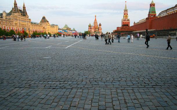 ロシアの世界遺産「モスクワのクレムリンと赤の広場」、赤の広場