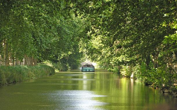 世界遺産「ミディ運河(フランス)」