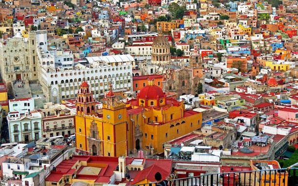 世界遺産「古都グアナファトとその銀鉱群(メキシコ)」