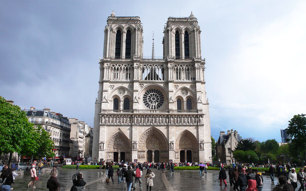 世界遺産「パリのセーヌ河岸(フランス)」、パリのノートル・ダム大聖堂