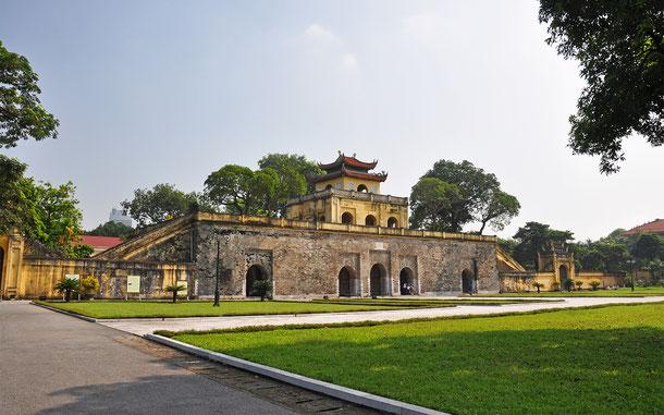 ベトナムの世界遺産「ハノイ-タンロン王城遺跡中心地区」の瑞門