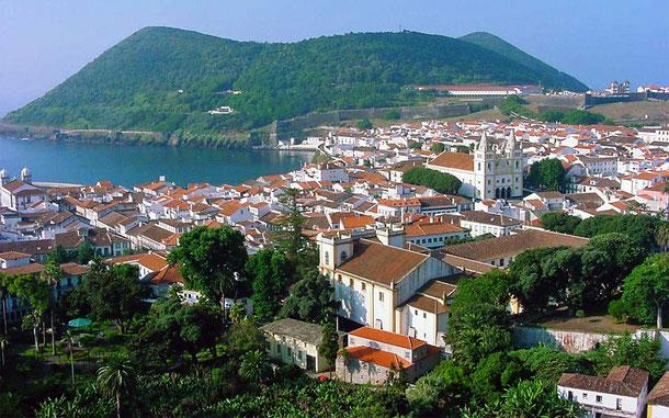 世界遺産「アゾレス諸島のアングラ・ド・エロイズモの町の中心地区(ポルトガル)」