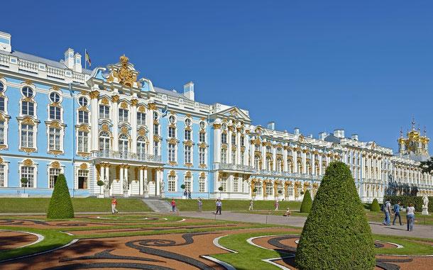 世界遺産「サンクトペテルブルク歴史地区と関連建造物群(ロシア)」、エカテリーナ宮殿