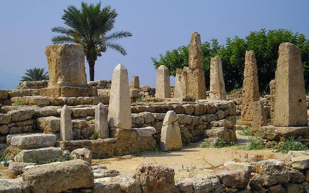 世界遺産「ビブロス(レバノン)」のオベリスク神殿