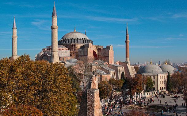 世界遺産「イスタンブール歴史地域(トルコ)」、アヤソフィア