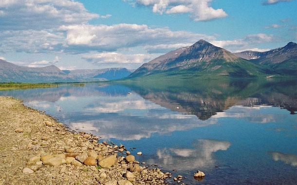 ロシアの世界遺産「プトラナ高原」、ラマ湖