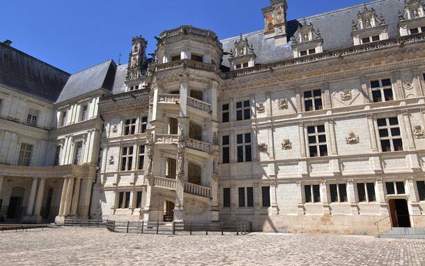 世界遺産「シュリー・シュル・ロワールとシャロンヌ間のロワール渓谷(フランス)」、ブロワ城