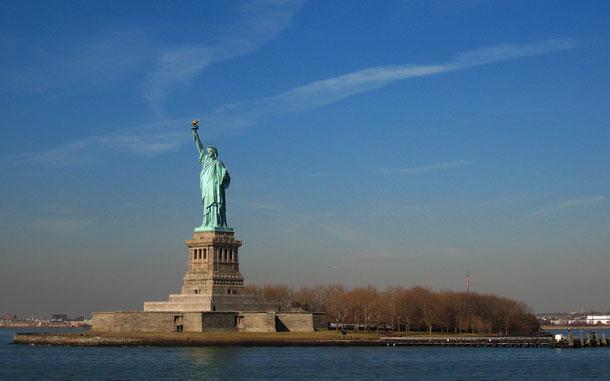 世界遺産「自由の女神像」
