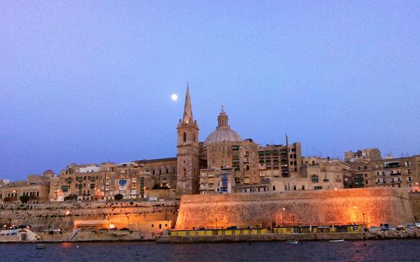 マルタ島の世界遺産「ヴァレッタ市街(マルタ)」