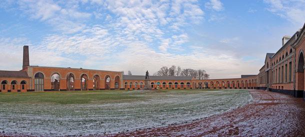 ベルギーの世界遺産「ワロン地方の主要な鉱山遺跡群」、グラン・オルニュのオーバル・コート
