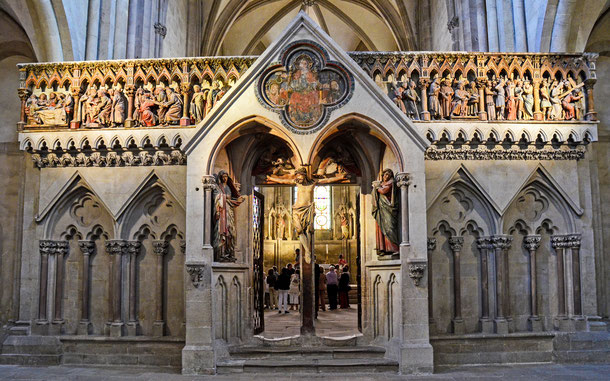 ドイツの世界遺産「ナウムブルク大聖堂」