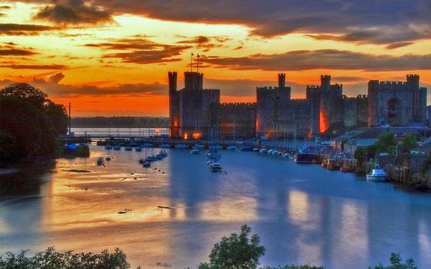 世界遺産「グウィネズのエドワード1世の城群と市壁群(イギリス)」