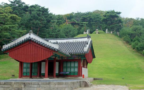 世界遺産「朝鮮王朝の王墓群(韓国)」、貞陵