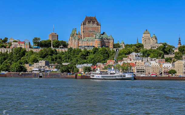 世界遺産「ケベック旧市街の歴史地区(カナダ)」、シャトー・フロンテナック