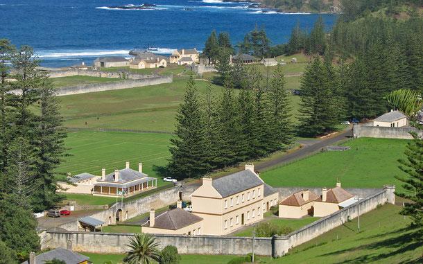 世界遺産「オーストラリア囚人遺跡群(オーストラリア)」、キングストンとアーサーズ・ヴェールの歴史地区(KAVHA)