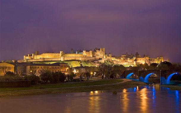 フランスの世界遺産「歴史的城塞都市カルカソンヌ」、シテ