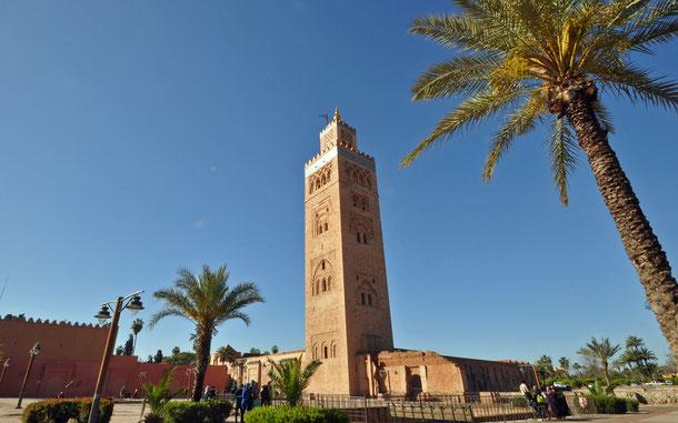 世界遺産「マラケシュ旧市街(モロッコ)」、クトゥビア・モスク