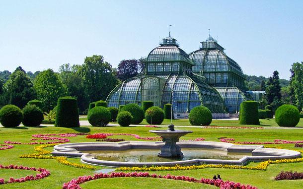 世界遺産「シェーンブルン宮殿と庭園群(オーストリア)」、パルメン・ハウス