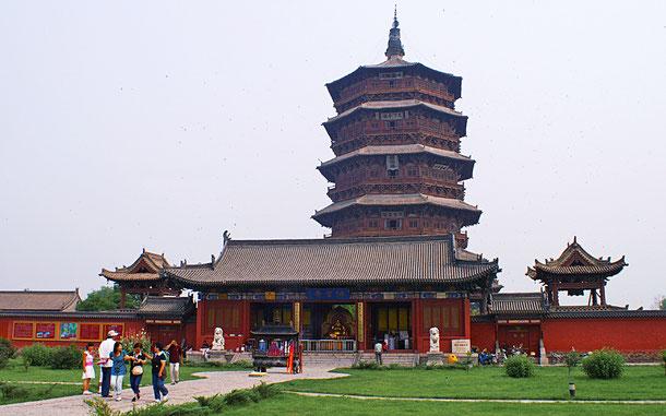仏宮寺・釈迦塔、通称・応県木塔