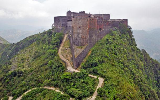 世界遺産「国立歴史公園-シタデル、サン・スーシ、ラミエ(ハイチ)」、