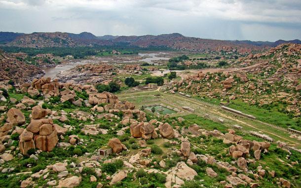 インドの世界遺産「ハンピの建造物群」
