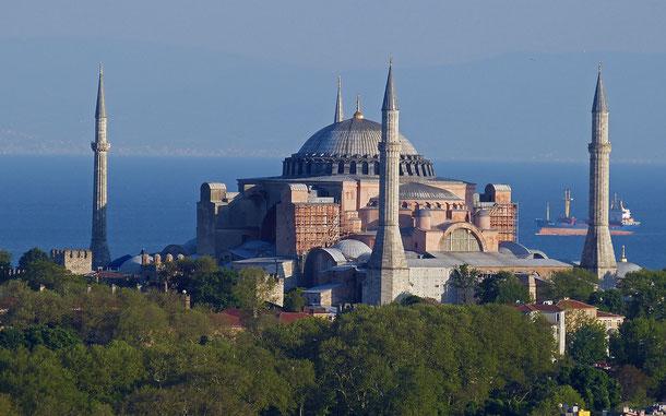 トルコの世界遺産「イスタンブール歴史地区」、アヤソフィア