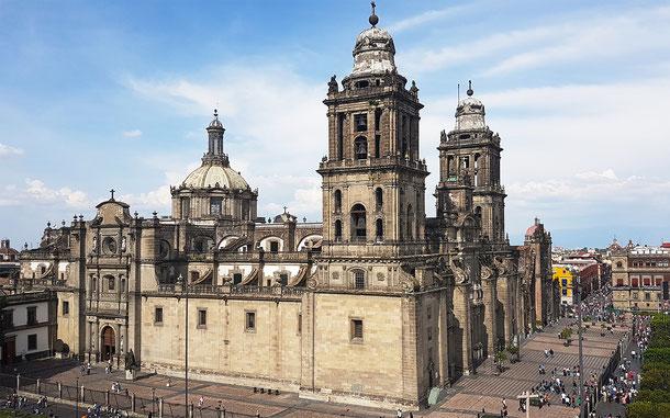 世界遺産「メキシコシティ歴史地区とソチミルコ(メキシコ)」、メキシコシティのメトロポリタン大聖堂