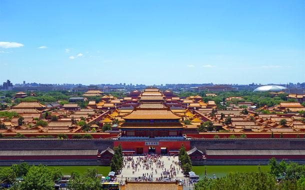 世界遺産「北京と瀋陽の明・清朝の皇宮群(中国)」、紫禁城(現・故宮博物院)