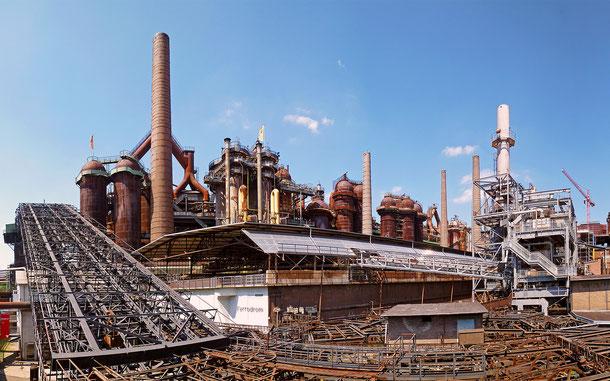 ドイツの世界遺産「フェルクリンゲン製鉄所」