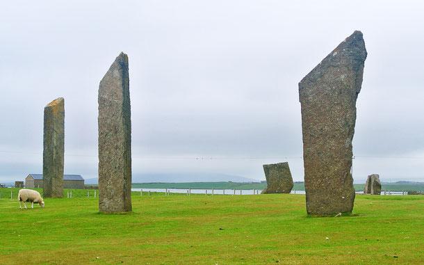 世界遺産「オークニー諸島の新石器時代遺跡中心地(イギリス)」、ストーンズ・オブ・ステネス