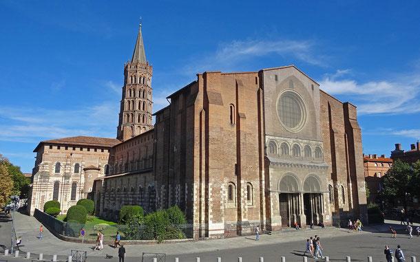 世界遺産「フランスのサンティアゴ・デ・コンポステーラの巡礼路(フランス)」、トゥールーズのサン=セルナン大寺院