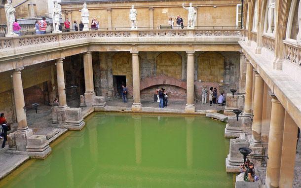 世界遺産「バース市街(イギリス)」、ローマ浴場