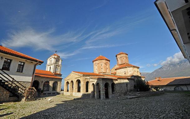 世界遺産「オフリド地域の自然遺産及び文化遺産(アルバニア/北マケドニア)」、聖ナウム修道院
