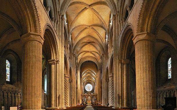 世界遺産「ダラム城と大聖堂(イギリス)」、ダラム大聖堂