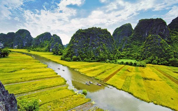 世界遺産「チャンアン複合景観(ベトナム)」構成資産