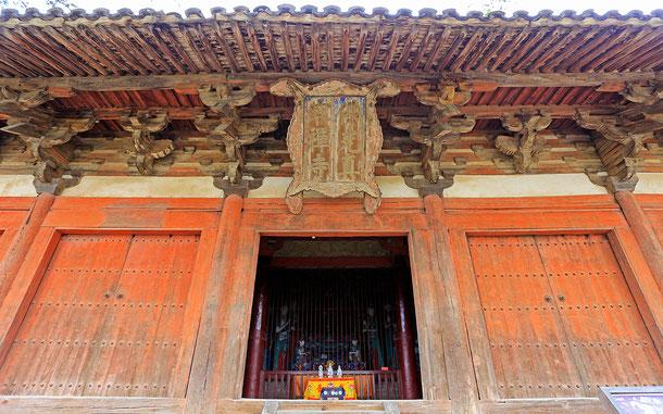 世界遺産「五台山(中国)」、五台山の佛光寺・大殿